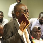 Ghana FA boss Kwesi Nyantakyi swears by Holy Quran at Commission of Inquiry