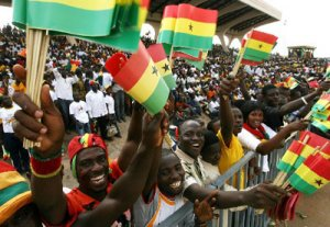 Travel Matters chartered the flight for Ghana fans to Brazil