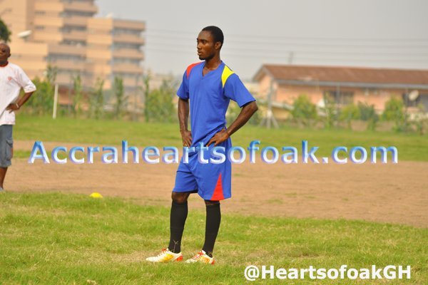 Owusu Bempah and Eric Kumi have joined the Hearts squad
