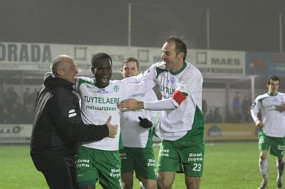 Prince Asubonteng scored for Dessel Sport