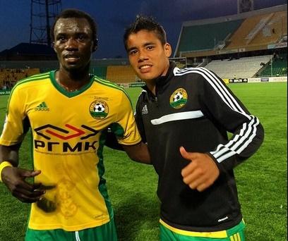 Rabiu Mohammed now plays for Kuban Krasnodar