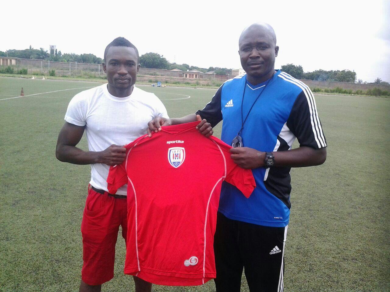 Ambitious Inter Allies new signing Sam Ayew Yeboah targets goal king