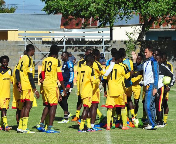 Uganda national team coach training.