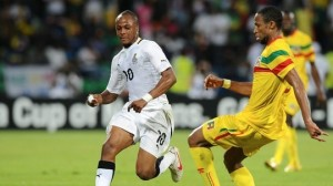 Andre Ayew, Waris arrive in Ghana for AFCON clash, to join camp in Kumasi today