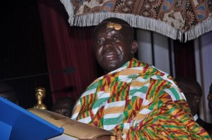 Asantehene urges Black Stars to stop chasing the money when they play for Ghana