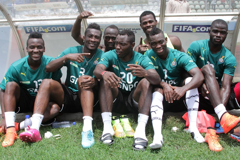 Most of the Black Stars players have endorsement deals with Nike