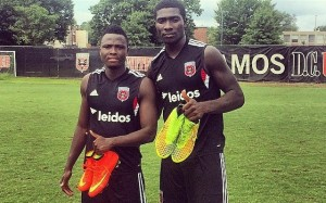 Samuel Inkoom, Kofi Opare are new teammates on D.C. United, but have family ties