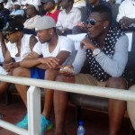 Black Stars trio; Gyan, Andre and Jordan witness thrilling Super 2 draw