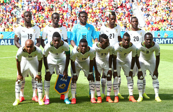 Black Stars players recieved $100,000 each at the World Cup