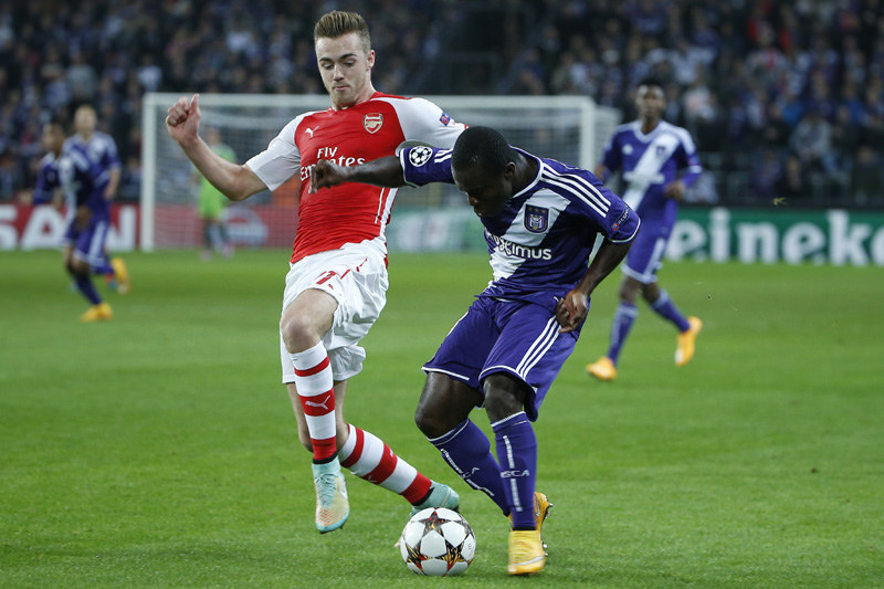 Frank Acheampong in action