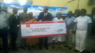 Goldstar Airlines support juvenile boxing