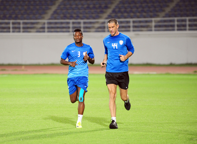 Gyan returns to light training for Al Ain