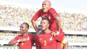 Black Stars win 3-2 in Togo