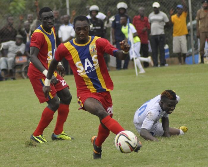 Hearts of Oak defender Owusu Bempah