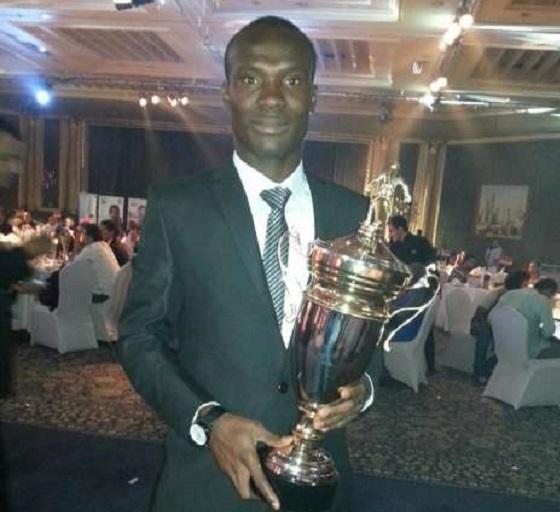 John Antwi was crowned Goal King in Egypt last season