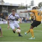 Ghanaian striker Kwesi Appiah is glad to be among goals for Cambridge United