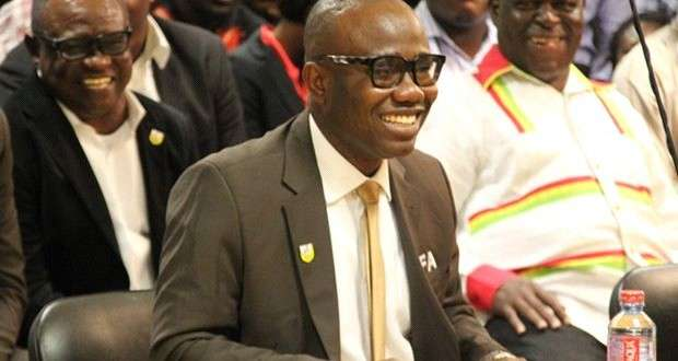 Nyantakyi and friends jubilate Commission appearance
