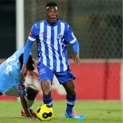 Maritzburg United's Ghanaian midfielder John Paintsil says that he is more than happy with how his career at the club is progressing.
