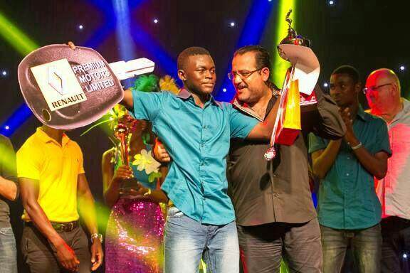 Daniel Abaa won the 2014 MTN Soccer Academy Reality show in Ghana