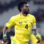 Ghana captain Asamoah Gyan salutes Emmanuel Adebayor as one of Africa's best players