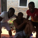 Razak Brimah visited former coach and Ghana legend Abedi Pele before returning to Spain
