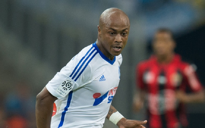 Andre Ayew is being chased by a host of clubs