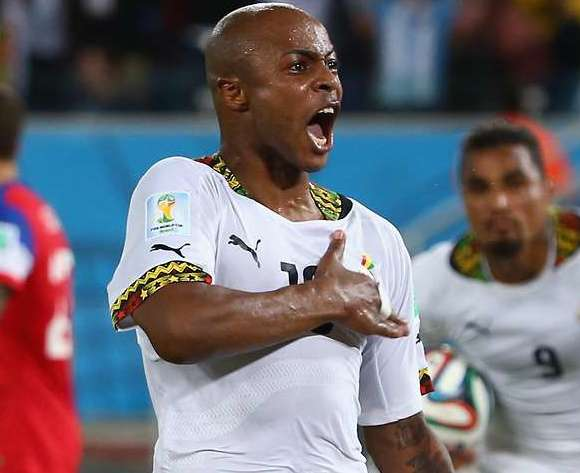 Everton agree deal with World Cup striker Andre Ayew for summer move from Marseille