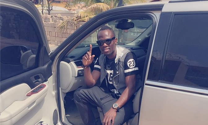 Emmanuel Agyemang-Badu getting reasy to set off to town