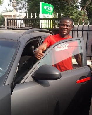 Fatau Dauda completes his medical test