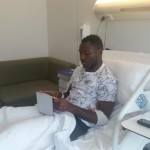 Injured Kwadwo Asamoah refuses to travel to Ghana for holidays; remains in Italy to speed up recovery