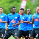 Ghana's Group C opponents South Africa start trainng without  seven regular players
