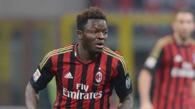 Sulley Muntari was part of the Milan squad