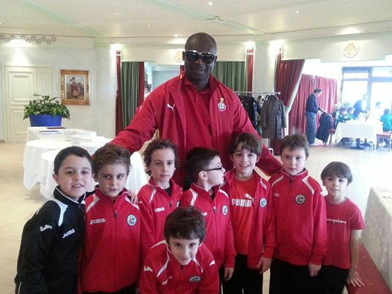Vision with the kids - George Afriyie understands basic football development principles