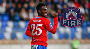 American side Chicago Fire have signed Ghanaian striker David Accam as its second Designated Player signing of the off-season.