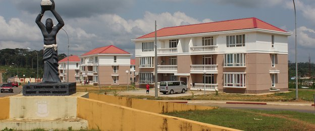 Some of the social housing buildings that could be used for accommodation during the Nations Cup
