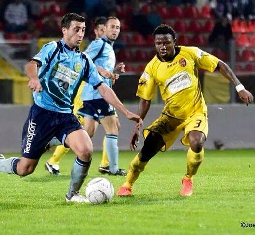 Ghanaian midfielder Albert Bruce thrilled with Nexxar Lions debut