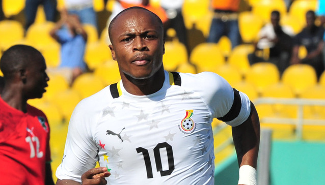 Andre Ayew is no stranger to AFCONs