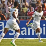 Ghana forward Andre Ayew insists Group C will be very open despite early setback