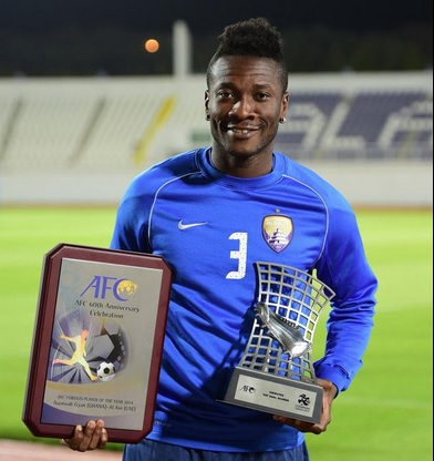 Gyan has flourished since moving to the UAE