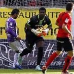 VIDEO: Watch Ghana goalkeeper Razak Brimah in good form to help Mirandes maintain unbeaten run in Spain