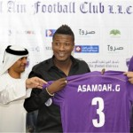 Gyan insists he will not leave Al Ain to join up with former coach Cosmin Olariou