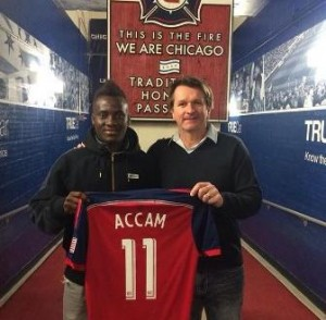David Accam defends move to Chicago Fire: 'MLS is no longer a retirement league for European stars'