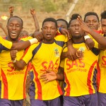 Match Report: Gilbert Fiamenyoh strikes double again for Hearts but Medeama frustrate Phobians