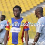 Gilbert Fiamenyo: Hearts star vows to destroy Kotoko in big clash on Feb 7