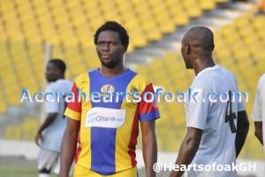 Herbert Addo: Hearts coach not surprised by Fiamenyo's scoring form