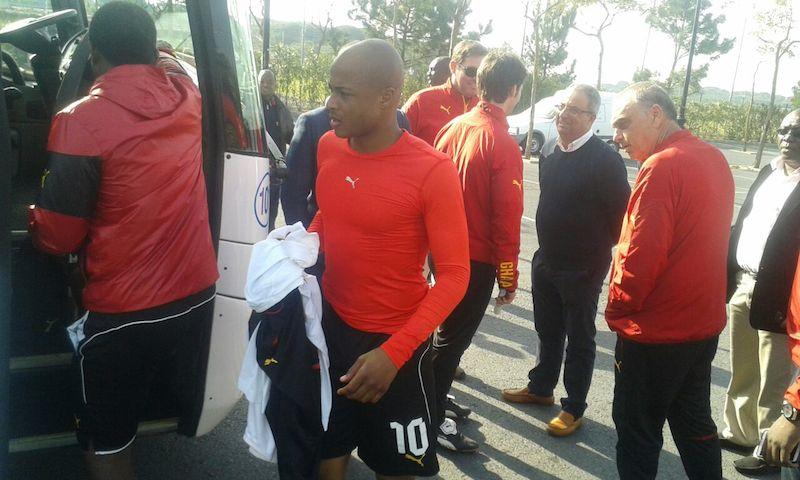Deputy Sports Minister in Black Stars camp.