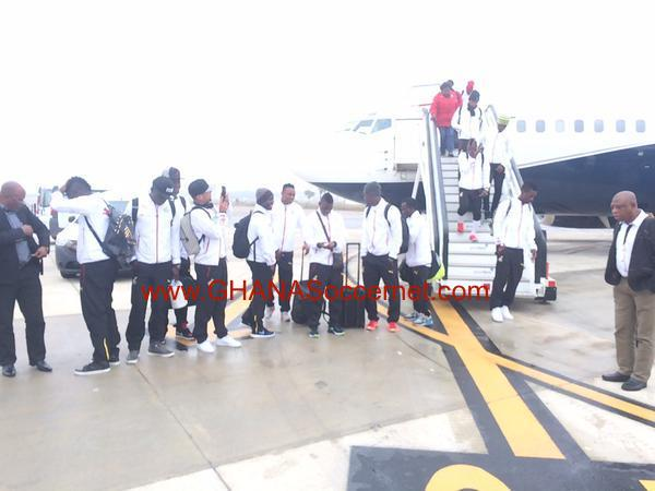 EXCLUSIVE: Ghana's squad arrives in Seville to begin pre-Nations Cup training