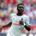 Sulley Muntari returns to AC Milan squad but unused as Atalanta down Rossoneris 1-0 in Serie A