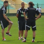 PICTURES: Algeria return to training ahead of Ghana's showdown