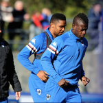 Ghana ace Afriyie Acquah trains for the first time with new club Sampdoria
